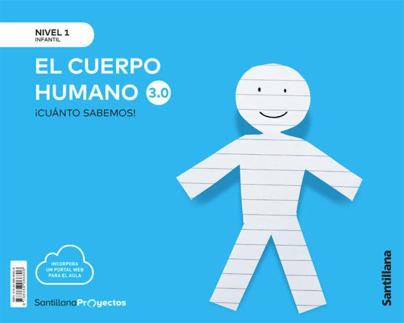 3 AÑOS - NIVEL I - EL CUERPO HUMANO - CUANTO SABEMOS 3.0