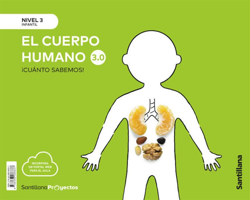 5 AÑOS - NIVEL III - EL CUERPO HUMANO - CUANTO SABEMOS 3.0