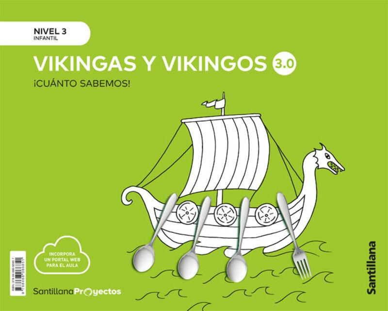 5 AÑOS - NIVEL III - LOS VIKINGOS - CUANTO SABEMOS 3.0