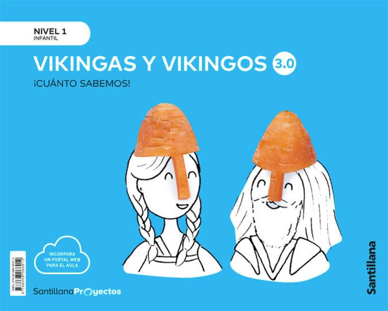 3 AÑOS - NIVEL I - LOS VIKINGOS - CUANTO SABEMOS 3.0