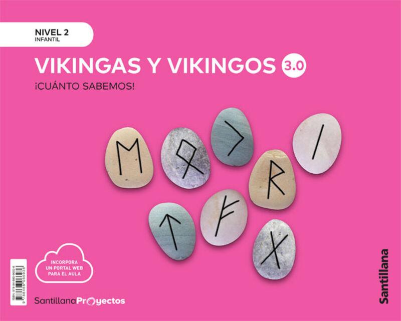 4 AÑOS - NIVEL II - VIKINGOS - CUANTO SABEMOS 3.0