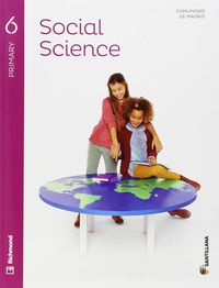 EP 6 - SOCIALES (INGLES) - SOCIAL SCIENCE (+CD) (MAD)