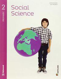 EP 2 - SOCIALES (INGLES) - SOCIAL SCIENCE (+CD) (MAD)