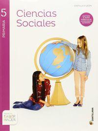 ep 5 - sociales (cyl) (+atlas) - saber hacer - Aa. Vv.