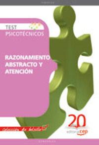 RAZONAMIENTO ABSTRACTO Y ATENCION - TEST PSICOTECNICOS