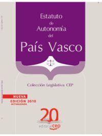 ESTATUTO DE AUTONOMIA DEL PAIS VASCO (2010)
