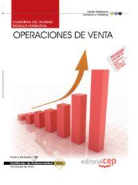 CUAD. OPERACIONES DE VENTA - CERTIFICADOS DE PROFESIONALIDA