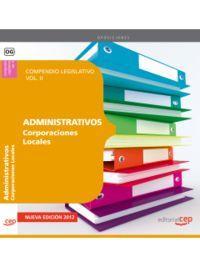 COMPENDIO LEGISLATIVO ADMINISTRATIVOS CORPORACIONES LOCALES