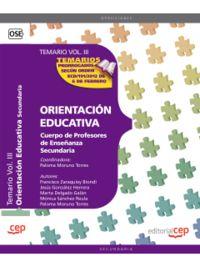 PROFESORES ESO - ORIENTACION EDUCATIVA - TEMARIO III