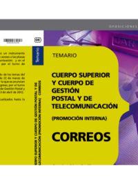 TEMARIO - P. INTERNA - CUERPO SUPERIOR Y CUERPO DE GESTION