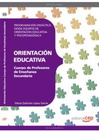 PROFESORES ESO - ORIENTACION EDUCATIVO - PROGRAMACION DIDACTICA DESDE EQUIPOS DE ORIENTACION EDUCATIVA Y PSICOPEDAGOGICA