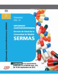 TEMARIO IV - DIPLOMADO / ENFERMERA SERVICIO SALUD MADRID - SE