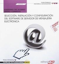 CP - CUAD - SELECCION, INSTALACION Y CONFIGURACION DEL SOFTWARE DE SERVIDOR DE MENSAJERIA (UF1273)