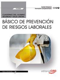 CP - CUAD. BASICO DE PREVENCION DE RIESGOS LABORALES - FCOS02 - FORMACION COMPLEMENTARIA