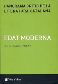 panorama critic de la literatura catalana iii - Albert Rossich Estrago