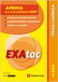 ESO 4 - EXATAC - FISICA I QUIMICA