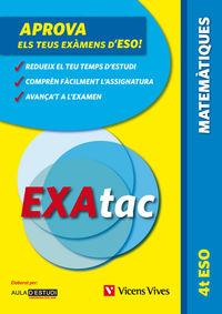 ESO 4 - EXATAC - MATEMATIQUES
