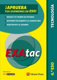 ESO 4 - EXATAC - TECNOLOGIA - APRUEBA TUS EXAMENES