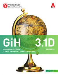 ESO 3 - GEOGRAFIA I HISTORIA (3.1-3.2) - DIVERSITAT - AULA 3D (BAL)