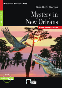 Step 2 - Mystery In New Orleans (+audio-cd) - Gina D. B. Clemen
