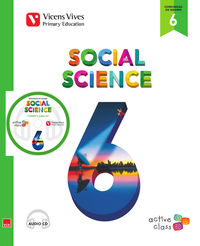 EP 6 - SOCIALES (INGLES) - SOCIAL SCIENCE (ACTIVE CLASS) (+CD) - AULA ACTIVA (MADRID)