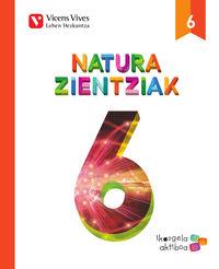 LH 6 - NATURA ZIENTZIAK - IKASGELA AKTIBOA