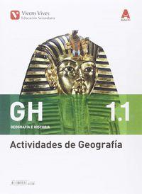 ESO 1 - GEOGRAFIA E HISTORIA CUAD (1.1-1.2) - AULA 3D