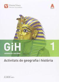 ESO 1 - GEOGRAFIA I HISTORIA QUAD. (CAT) - AULA 3D