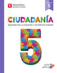 Ep 5 - Educacion Para La Ciudadania Y Dd. Hh. (and) - Aula Activa - Aa. Vv.