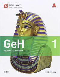DBH 1 - GEOGRAFIA ETA HISTORIA (1.1-1.2) (PV) - 3D IKASLGELA