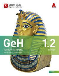 DBH 1 - GEOGRAFIA ETA HISTORIA (1.1-1.2) (NAV) - 3D IKASGELA