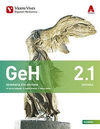 DBH 2 - GEOGRAFIA ETA HISTORIA (2.1-2.2) (NAV) - 3D IKASGELA