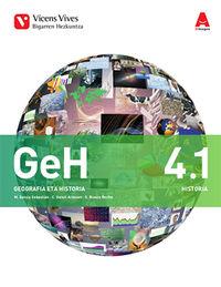 DBH 4 - GEOGRAFIA E HISTORIA (4.1-4.2) (NAV) - 3D IKASGELA