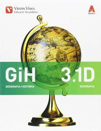 ESO 3 - GEOGRAFIA I HISTORIA - DIVERSITAT - AULA 3D (CAT)