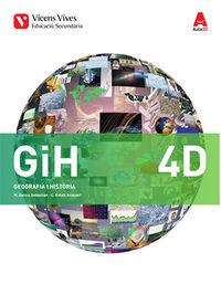 ESO 4 - GEOGRAFIA I HISTORIA - DIVERSITAT (CAT) - AULA 3D