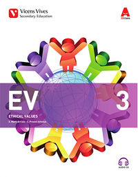 ESO 3 - EV ETHICAL VALUES - 3D CLASS (+CD)