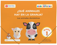 3 AÑOS - BUSCAPISTAS N 1 - ¿QUE ANIMALES HAY EN LA GRANJA?
