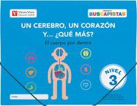 5 AÑOS - BUSCAPISTAS N 3 - UN CEREBRO, UN CORAZON Y. ..