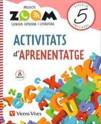 EP 5 - LLENGUA (CAT) ACTIVITATS APRENENTATGE - ZOOM