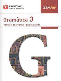 ESO 3 - LLENGUA PRO 3 (CAT) - GRAMATICA