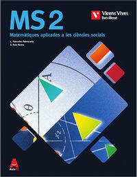 BATX 2 - MATEMATICAS Y ESTADISTICA (CCSS) - AULA 3D (BAL)