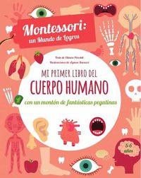 Mi Primer Libro Del Cuerpo Humano - Chiara Piroddi
