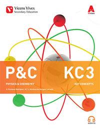 ESO 3 - P&C PHYSICS & CHEMISTRY - KEY CONCEPTS (+CD)