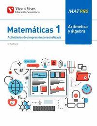 ESO 1 - MATEMATICAS - MAT PRO - ARITMETICA Y ALGEBRA