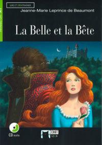 BELLE ET LA BETE, LA (+CD)