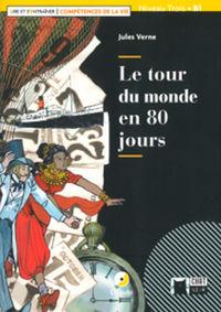 TOUR DU MONDE EN 80 JOURS, LE (+CD)