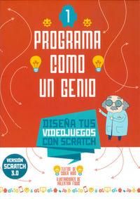 PROGRAMA COMO UN GENIO 1 - VIDEOJUEGOS - VERSION SCRATCH 3.0
