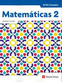 BACH 2 - MATEMATICAS IB-PAI - CONCEPTOS