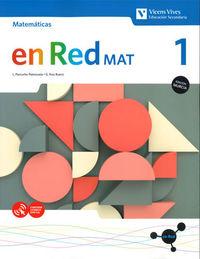 ESO 1 - MATEMATICAS (MUR) - EN RED MAT
