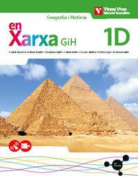 ESO 1 - GIH GEOGRAFIA I HISTORIA (CAT) QUAD DIVERSITAT - EN XARXA